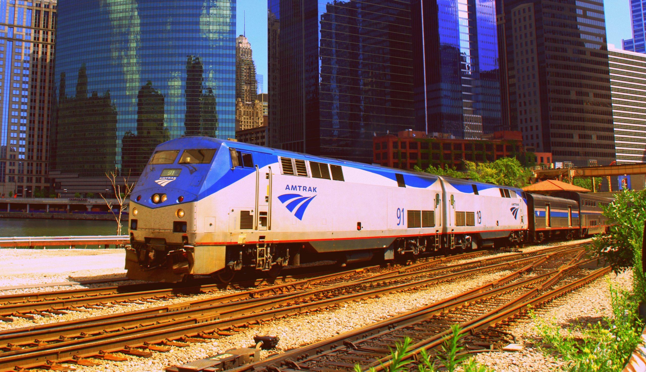 Across America by Amtrak Train