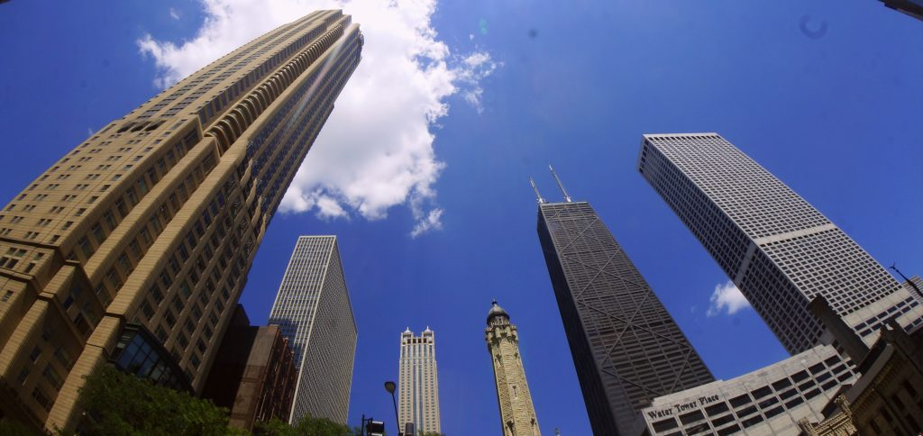 Chicago Skyscrapers including Willis Tower