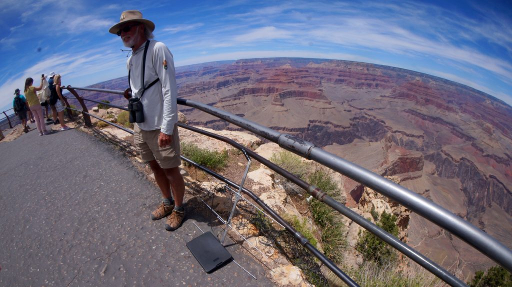 Condor researcher and Tracker at The Grand Canyon National Park