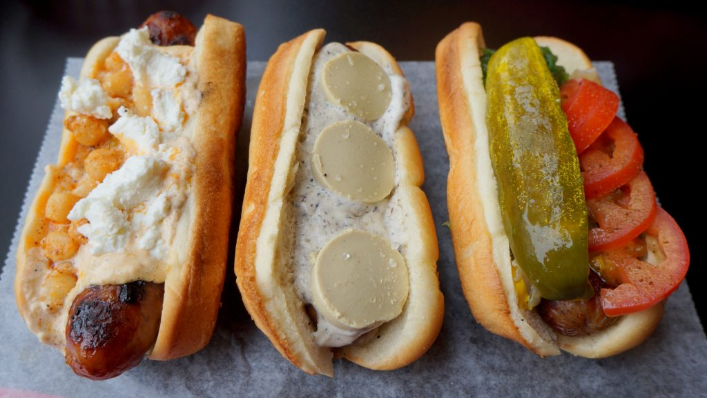 Gourmet Hot Dogs in Chicago