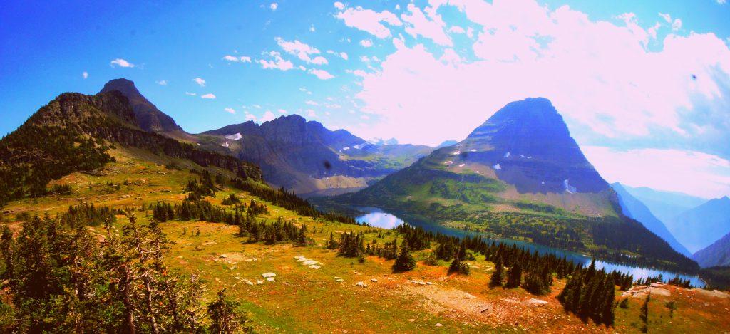 Bearhat Mountain at Glacier National Park, Montana
