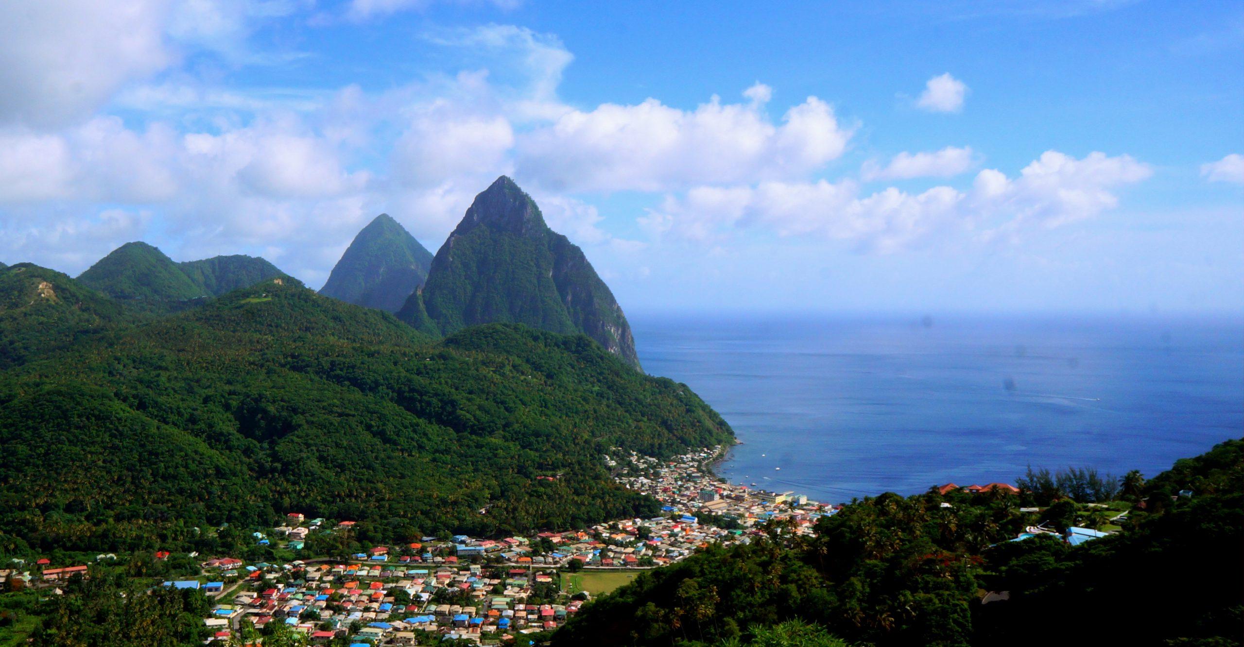 Hiking Gros Piton in Saint Lucia