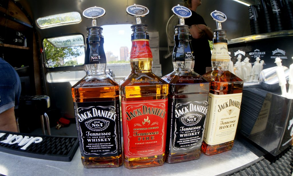 Jack Daniel's Tennessee Whiskey at the Lollapalooza Music Festival in Chicago