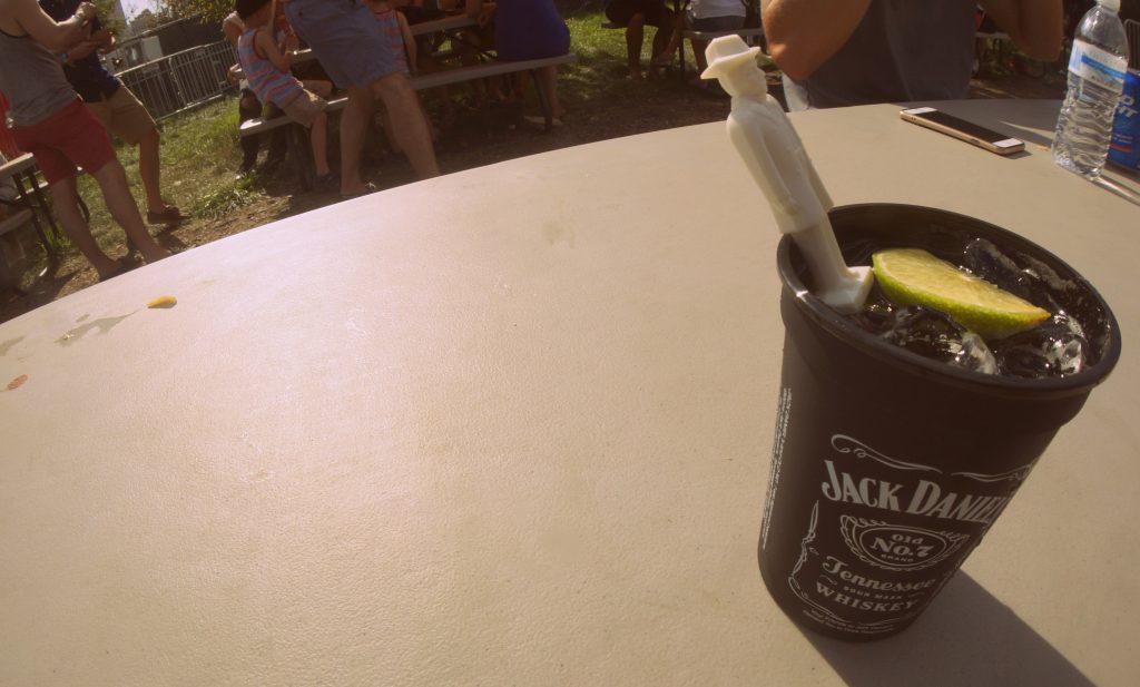 Jack Daniel's and Coca-Cola