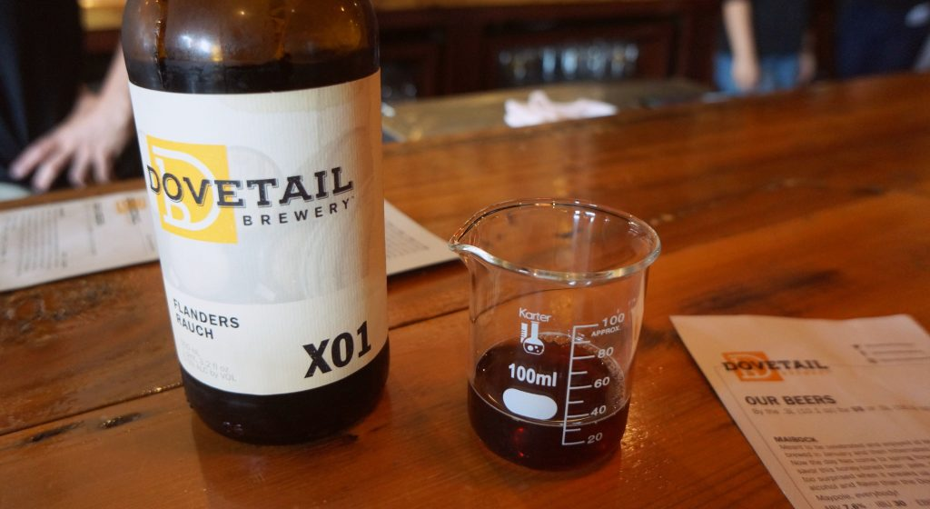 Dovetail Brewery Flanders Rauch