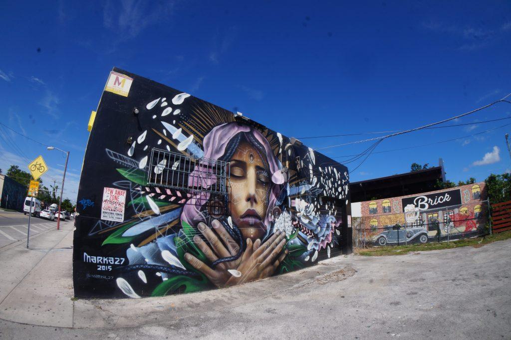 Street Art in Miami by Marka27