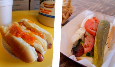 New York Style Hot Dog vs Chicago Style Hot Dog