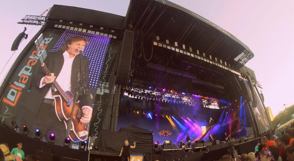 Paul McCartney at Lollapalooza