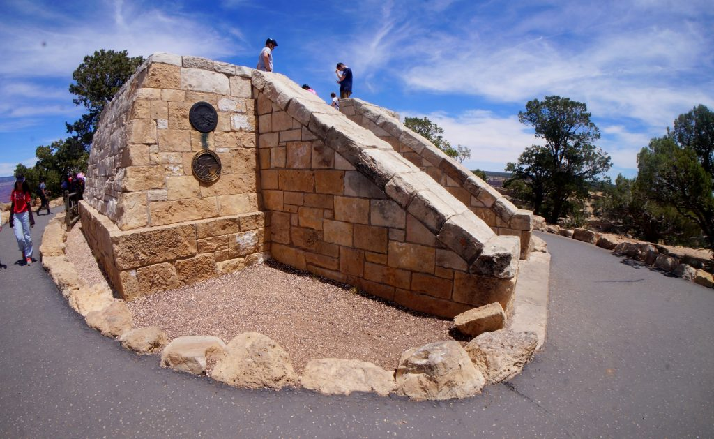 Powell Point Memorial at the Grand Canyon