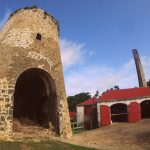 Visiting Saint Nicholas Abbey in Barbados