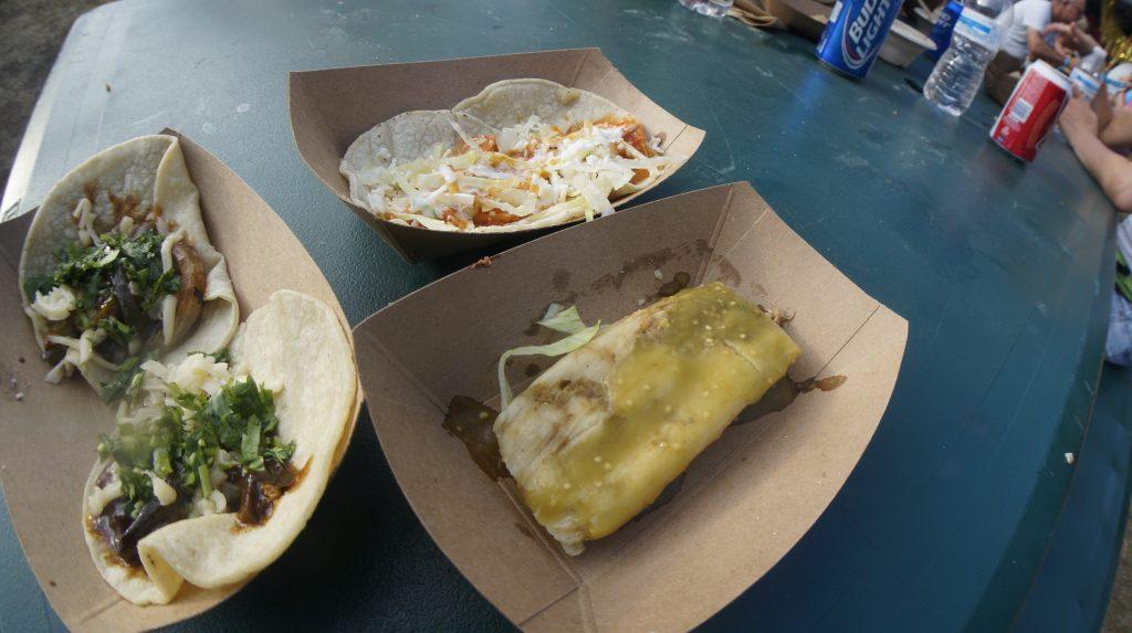 Tacos and Tamales at Lollapalooza