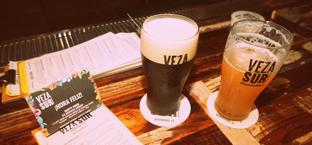Veza Sur Brewing Company Stout and Sour