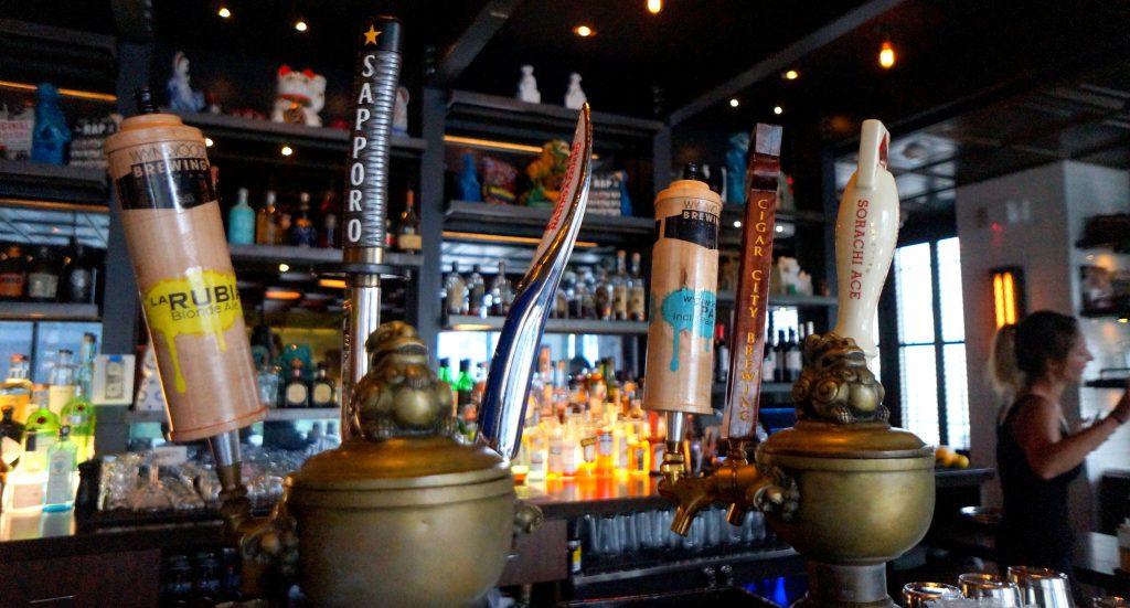 Wynwood Brewery Tap Handles