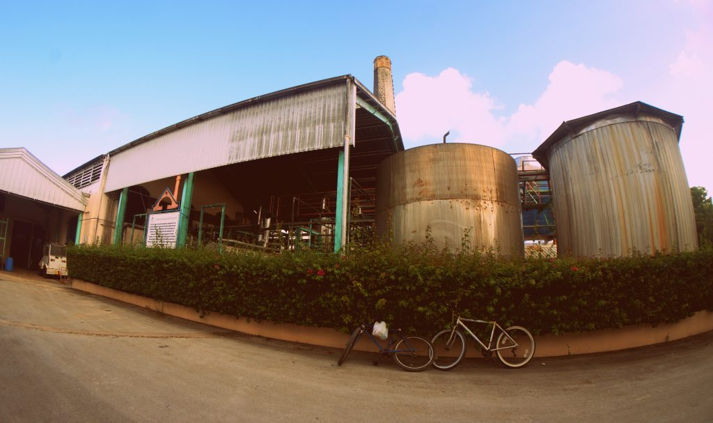 Concentration plant at the Foursquare Rum Distillery